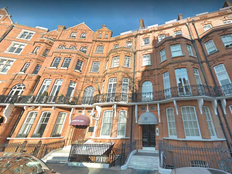 Iranian Consulate, London, UK