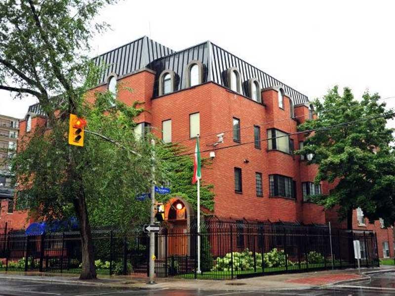 Iranian Consulate, Ottawa, Canada