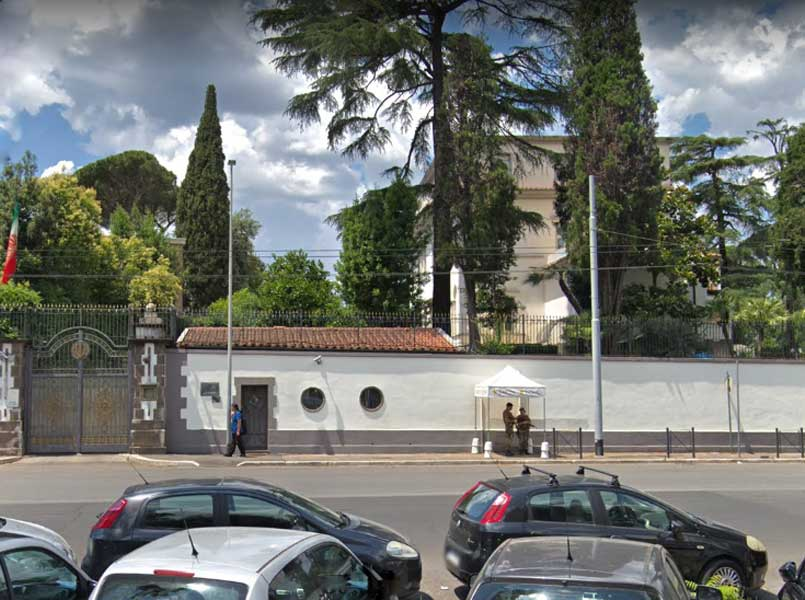 Iranian Consulate, Rome, Italy