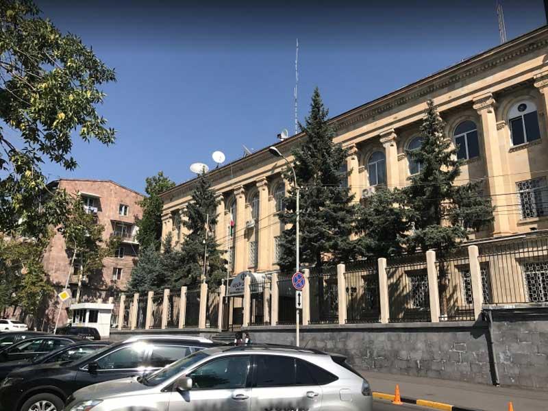 Iranian Consulate, Yerevan, Armeina
